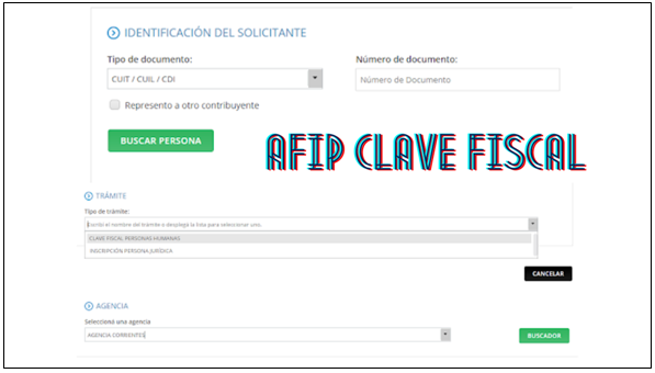 AFIP clave fiscal