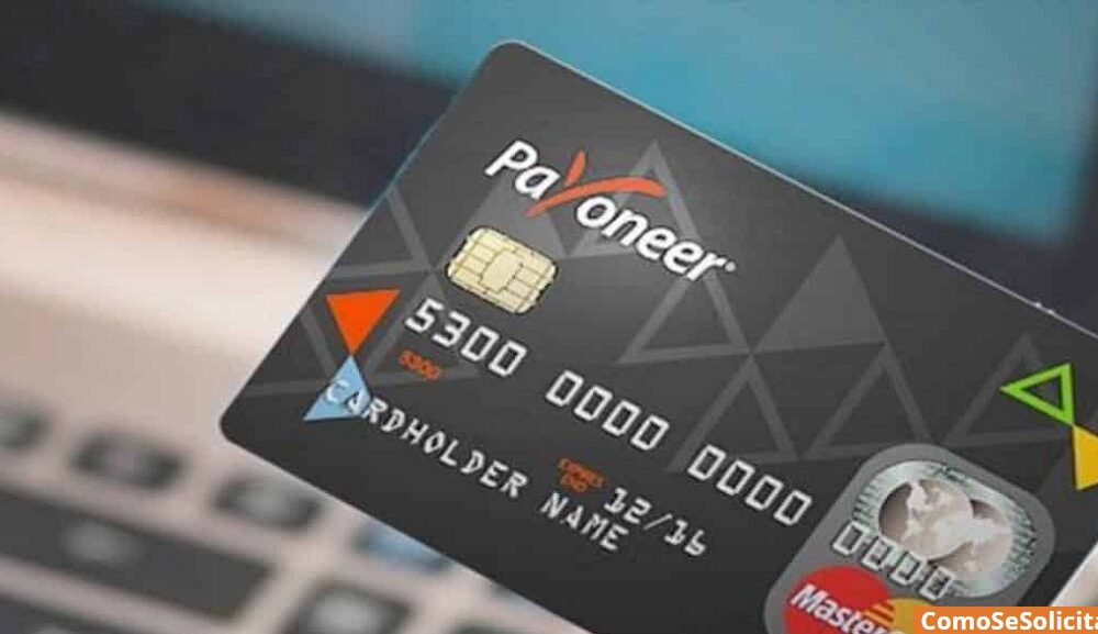 Solicitar tarjeta Payoneer Colombia